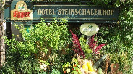 HD Bioprodukte bei Steinschalerhof Schild